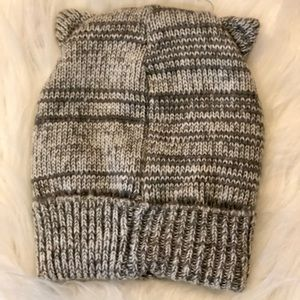 Claire's Accessories - Claire's Owl Beanie Kids Adults One Size Gray